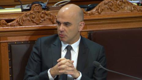 Video «Berset beharrt nicht auf Haltung des Bundesrats» abspielen