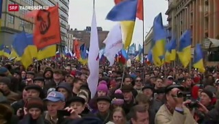 Video «Krim: tausende Moskauer gegen Putin» abspielen