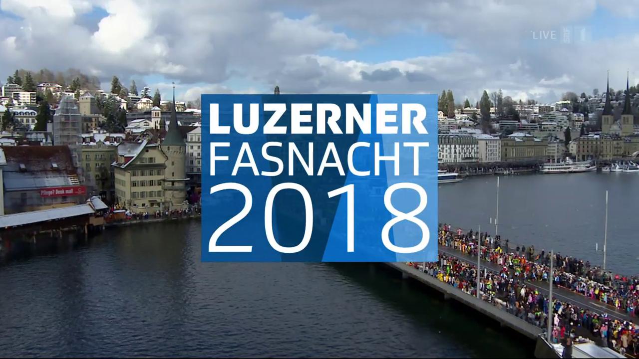 Luzerner Fasnacht 2018: Güdismontag-Umzug