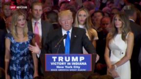 Video «FOKUS: Donald Trump als Kandidat gesetzt» abspielen