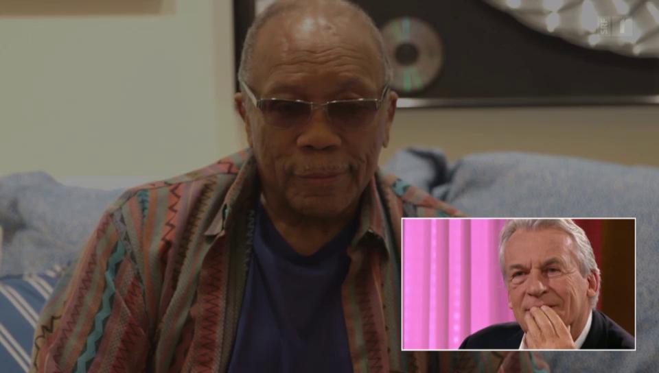 Zum 70. Geburtstag: Pepe Lienhard wird von Quincy Jones überrascht
