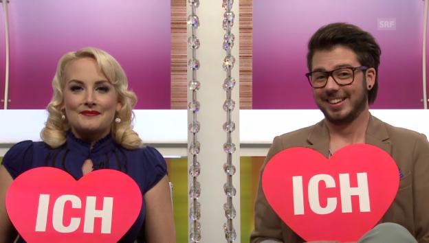 Video «Zoe Scarlett und Martin Dürrenmatt» abspielen