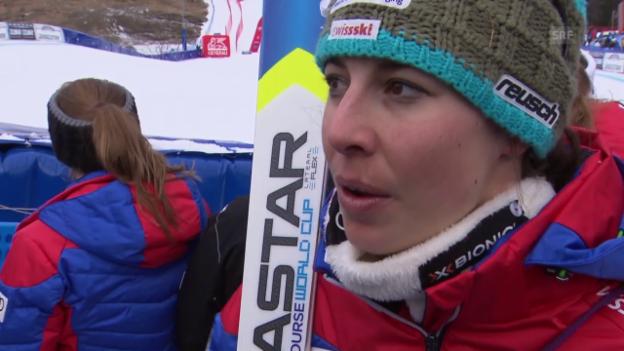 Video «Ski alpin: Dominique Gisin im Interview» abspielen
