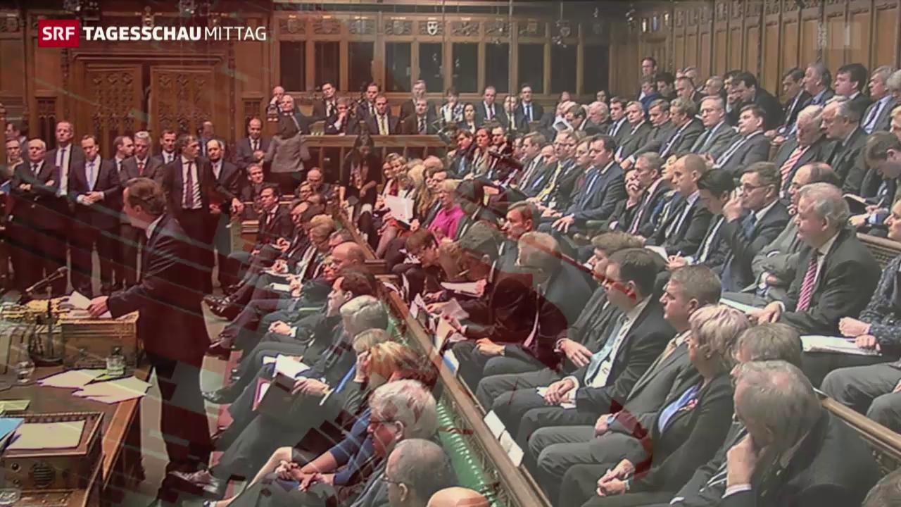 Cameron in Kriegsposition