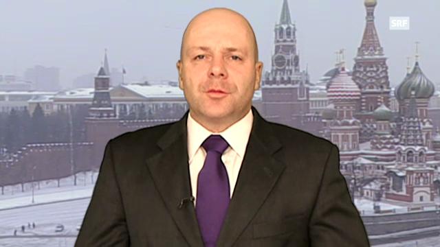 Einschätzungen von Christoph Wanner, Moskau