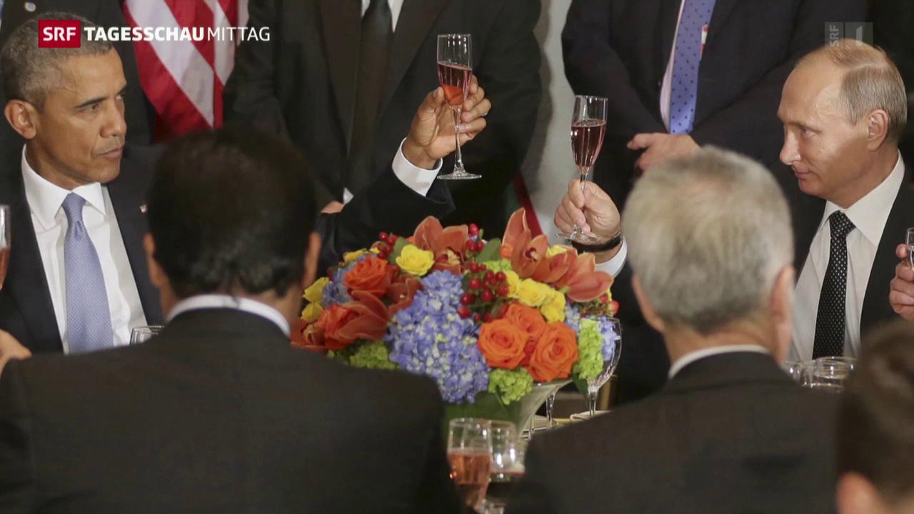 UNO-Vollversammlung: Treffen von Putin und Obama
