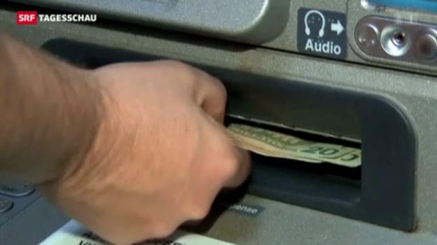 Video «45-Millionen-Bankraub am Bankomaten» abspielen