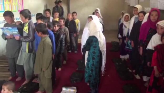 Video «Der Song der afghanischen Schüler» abspielen