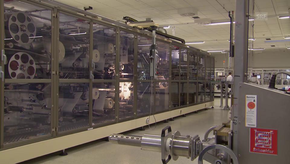 Batterieproduktion am Leclanché-Standort Willstätt