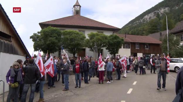 Video «Schweiz aktuell vom 18.09.2017» abspielen