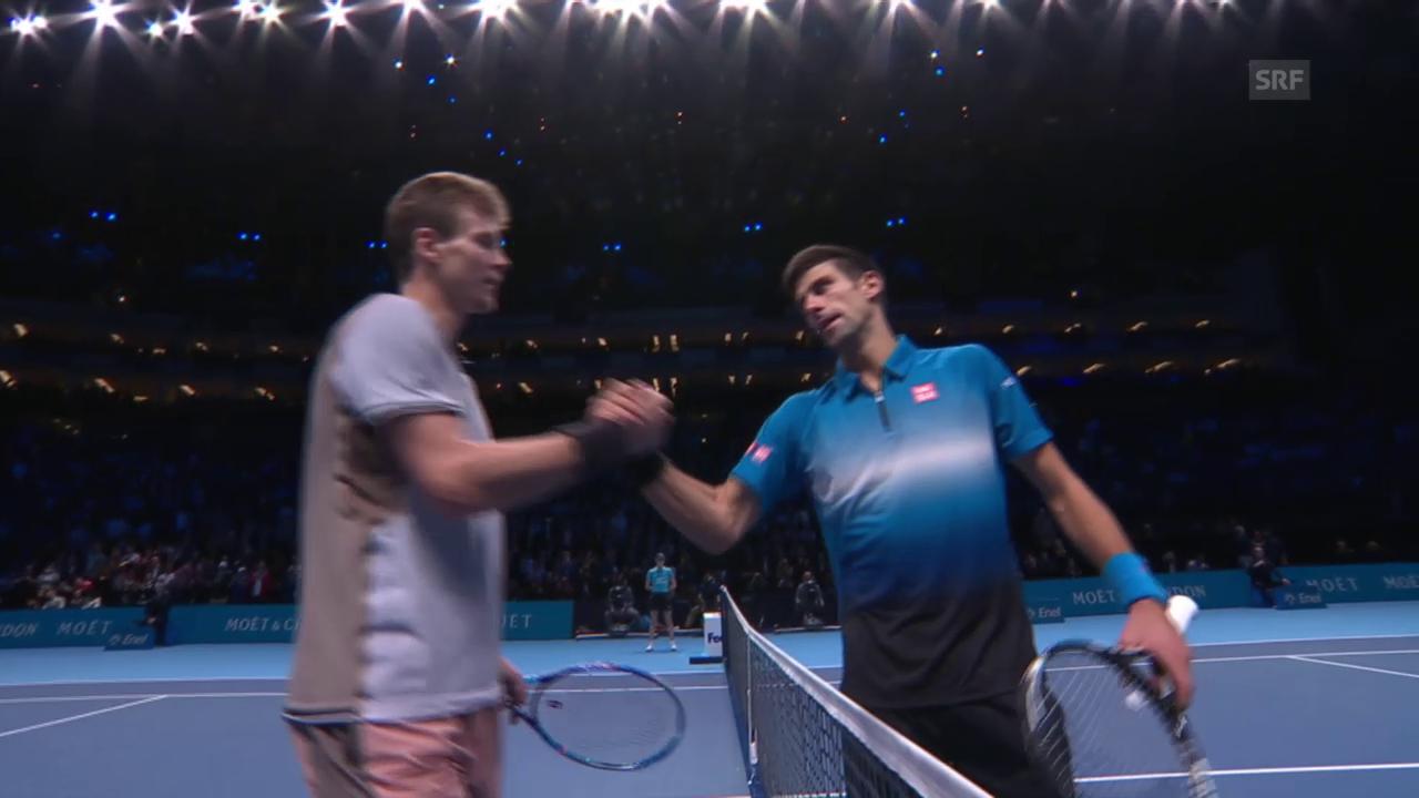 Tennis: ATP Finals, Djokovic-Berdych