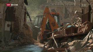 Video «Das Erdbeben in Amatrice und die Folgen» abspielen