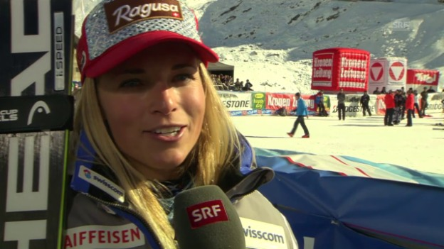 Video «Ski alpin: RS Sölden, Interview Gut» abspielen