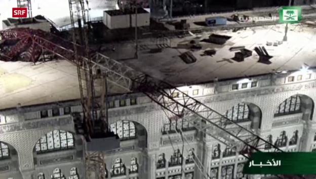 Video «Schweres Unglück in Mekka» abspielen