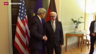 Video «Steinmeier empfängt Kerry» abspielen