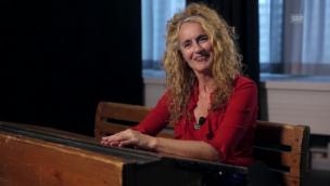 Video «Christine Lauterburg übte das Rauchen auf der Toilette» abspielen