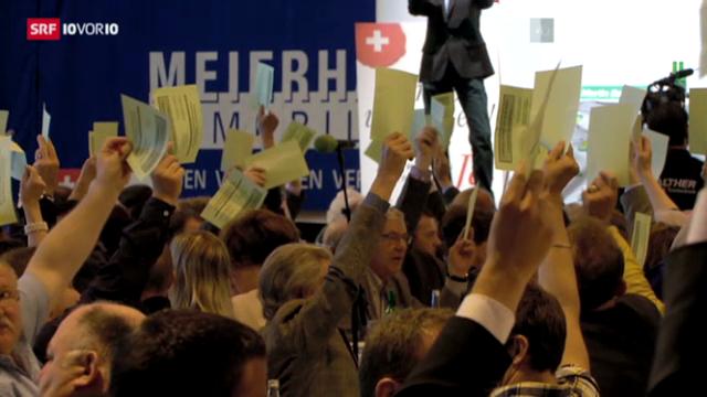Volkswahl als Zwickmühle für die SVP?