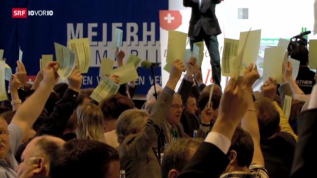 Video «Volkswahl als Zwickmühle für die SVP?» abspielen