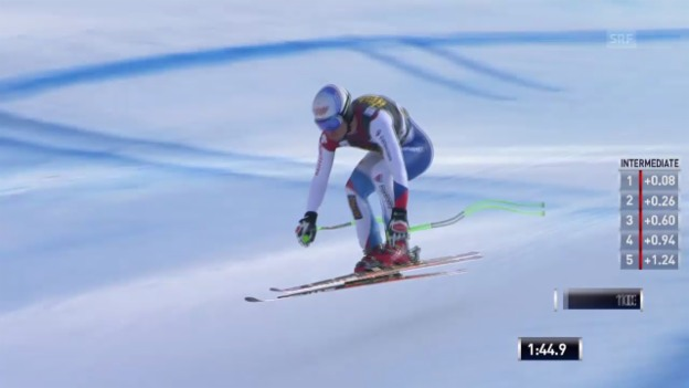 Video «Ski Alpin: Abfahrt Männer in Gröden, Fahrt von Janka («sportlive», 21.12.2013)» abspielen