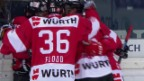 Video «Die Tore bei Canada - Lugano» abspielen