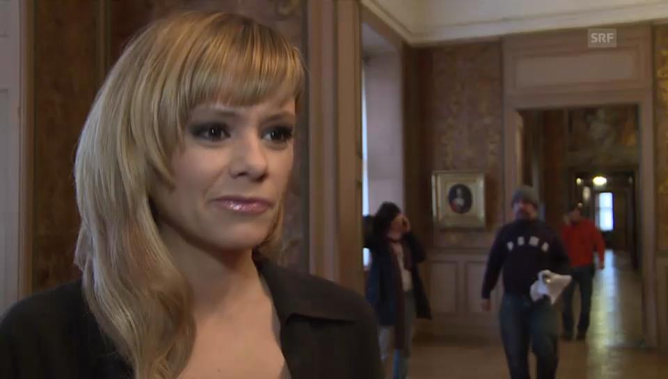 Francine Jordi zu «Drei Nüsse für Aschenbrödel»