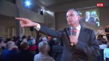 Laschar ir video «Debatta Parc Adula - las dumondas»