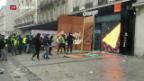 Video «Erneut Proteste in Frankreich» abspielen