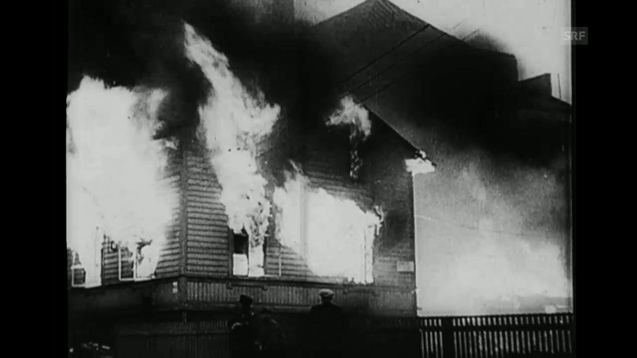 Hilfe für Finnland (Schweizer Filmwochenschau, 2.4.1948)