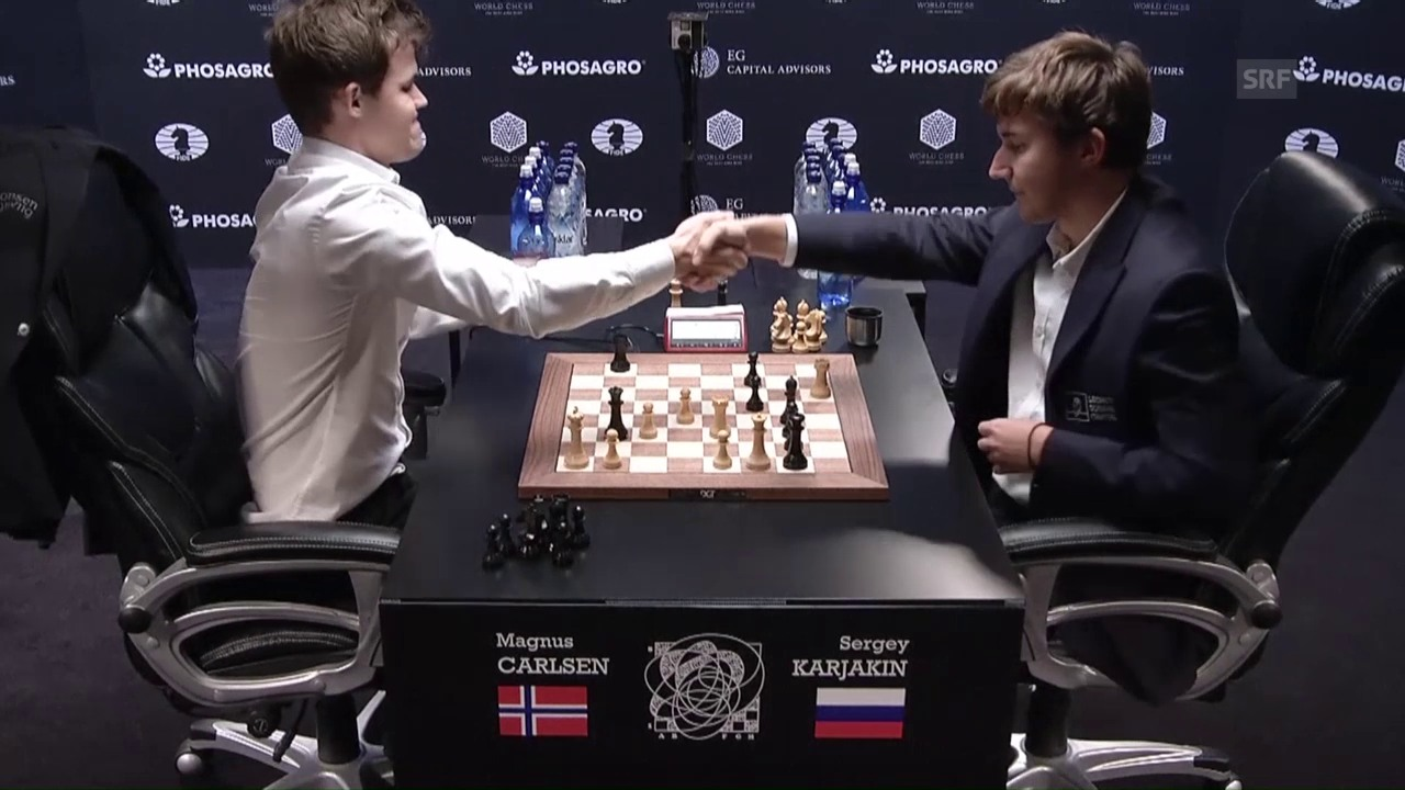 Carlsen beschenkt sich am 26. Geburtstag mit dem 3. WM-Titel
