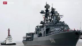Video «Putins Säbelrasseln» abspielen