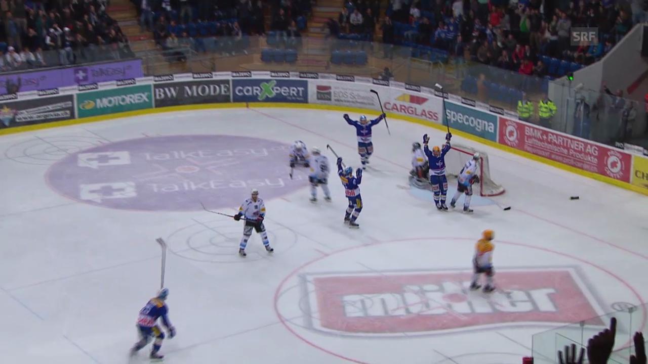 Eishockey: Playoff-Viertelfinal, Spiel 6, Kloten - Freiburg