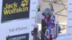 Video «Ski: Abfahrt Frauen Val d'Isère, Fahrt von Joana Hählen» abspielen