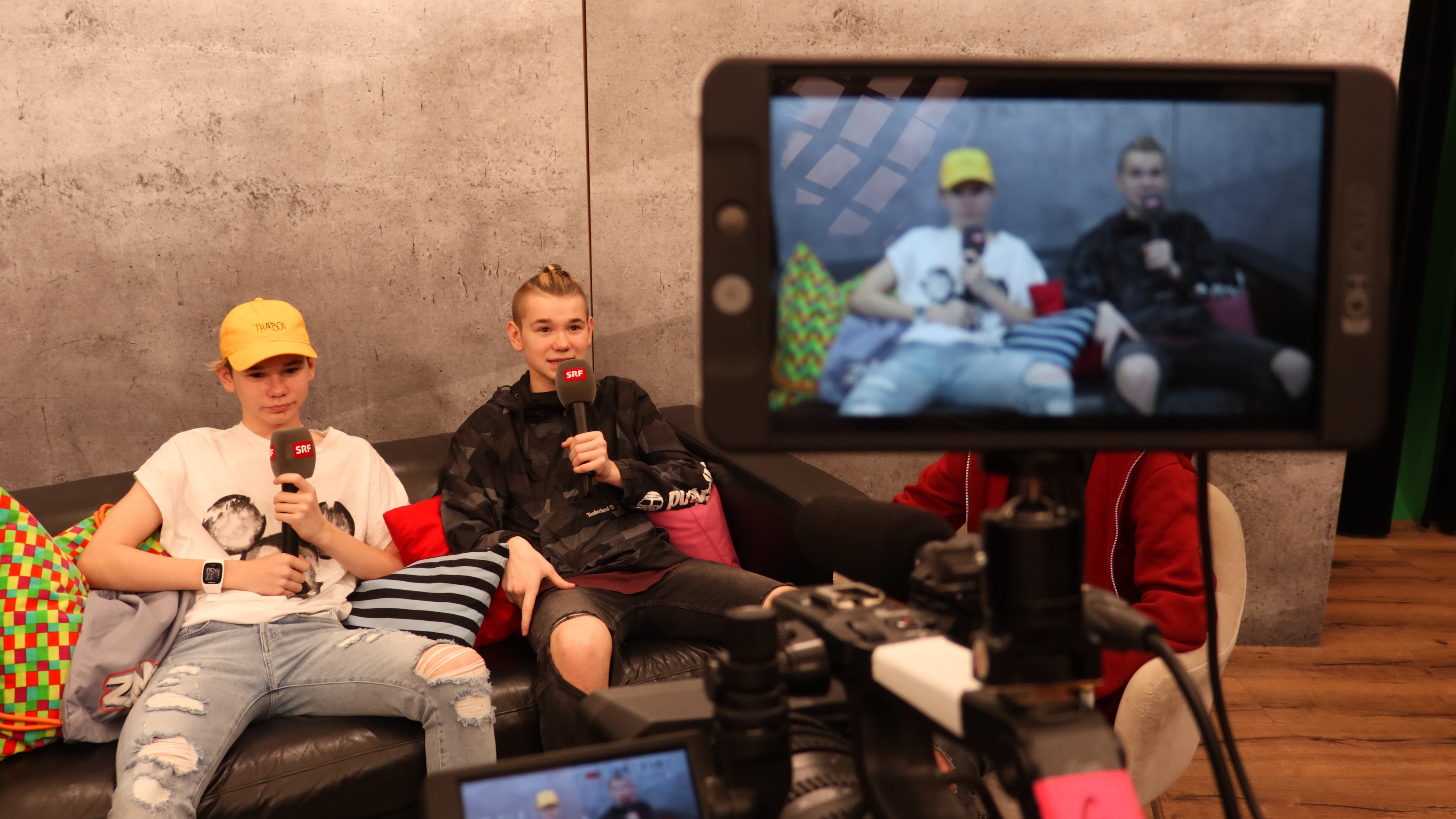 Marcus & Martinus singen Pop-Hits