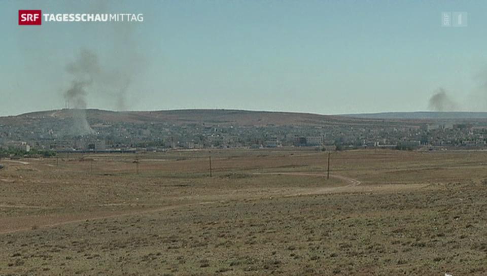 Heftige Gefechte in Kobane