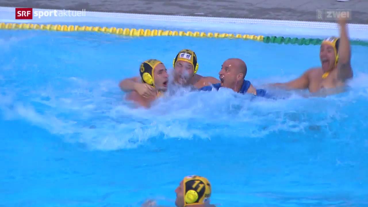 Wasserball: Playoff-Final Kreuzlingen-Lugano