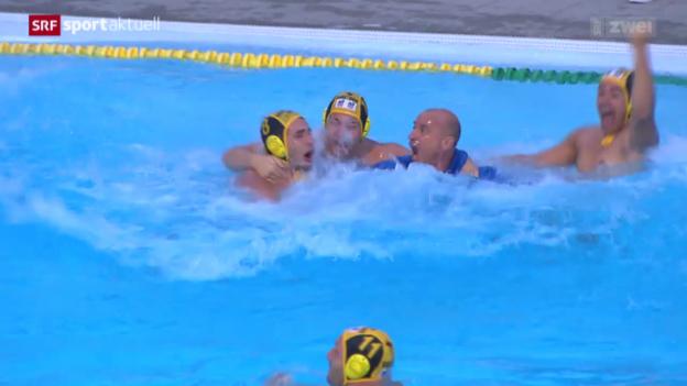 Video «Wasserball: Playoff-Final Kreuzlingen-Lugano» abspielen