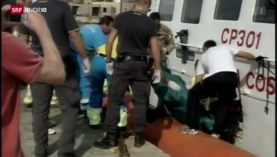 Schiffshavarie vor Lampedusa