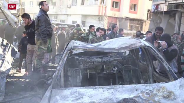 Video «Bombenanschlag in Syrien» abspielen