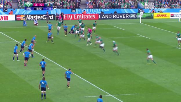Video «Rugby: WM 2015, Vorrunde, Irland - Italien» abspielen