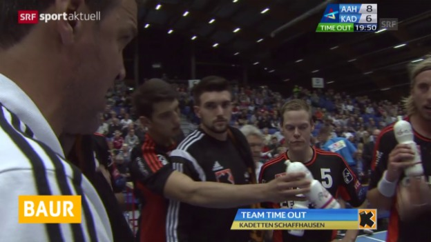 Video «Handball: Kadetten Schaffhausen» abspielen