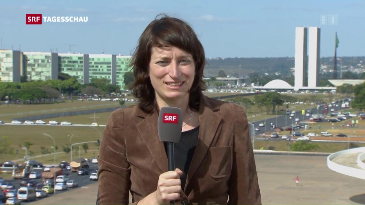 Karen Naundorf zur Situation in Brasilien