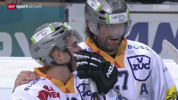 Video «Eishockey: NLA, Bern - Zug» abspielen