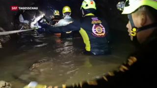 Video «Höhlenrettung Thailand geglückt» abspielen