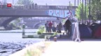 Video «Flüchtlingsmisere mitten in Paris» abspielen
