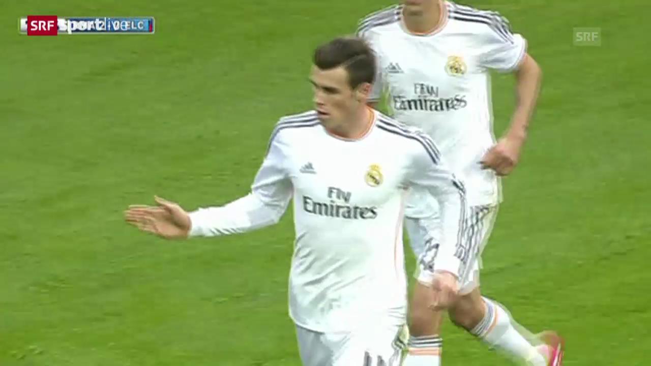 Fussball: Gareth Bale ist in Madrid angekommen («sportlive», 25.02.2014)