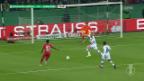 Video «DFP-Pokal: Gladbach und Frankfurt kämpfen um Final-Einzug» abspielen