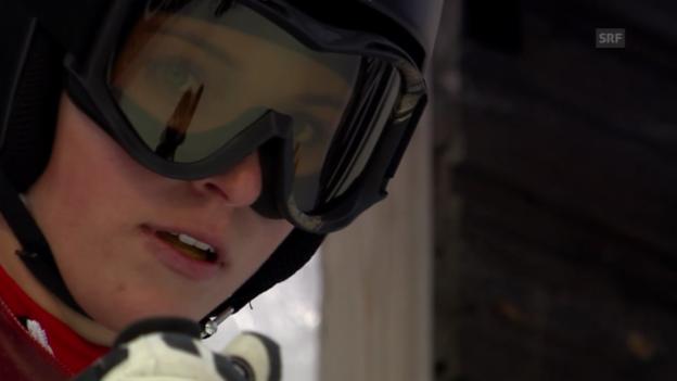 Video «Ski alpin: Riesenslalom Are, 2. Lauf Lara Gut («sportlive», 6.3.14)» abspielen