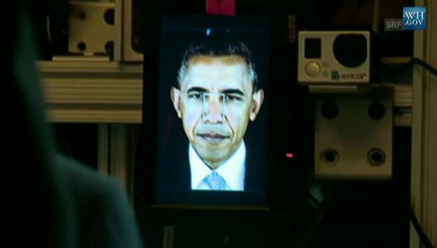 Video «3D-Obama» abspielen
