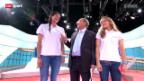 Video «Studiogäste Heidrich/Zumkehr über das Turnier in Gstaad» abspielen