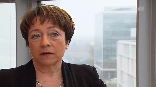 Barbara Kessler, Novartis, über einen möglichen Wegzug
